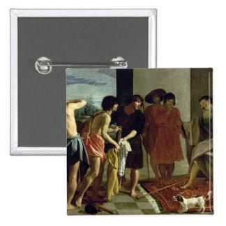 La capa de José, 1630 Pin Cuadrado