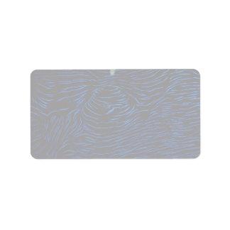 La capa de una almeja del Tridacna Etiqueta De Dirección