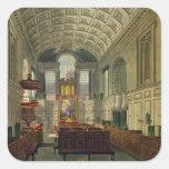 La capilla alemana, el palacio de San Jaime, 'del  Pegatina