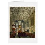 La capilla alemana, el palacio de San Jaime, 'del  Tarjeta De Felicitación