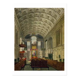 La capilla alemana, el palacio de San Jaime, 'del Tarjeta Postal