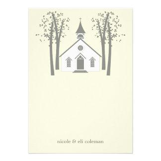La capilla caprichosa que casa el plano le agradec invitacion personalizada