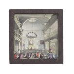 La capilla católica, campos del mesón de Lincolns, Cajas De Recuerdo De Calidad
