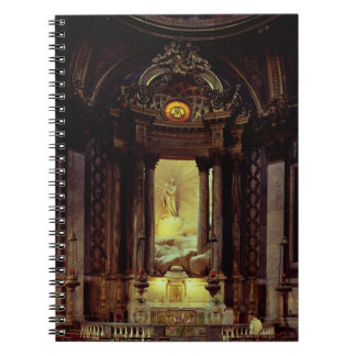 La capilla de la Virgen, 1770's (foto) Notebook