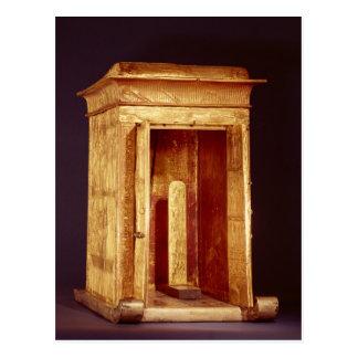 La capilla de oro del nuevo reino de Tutankhamun Tarjeta Postal