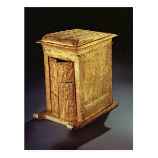 La capilla de oro del nuevo reino de Tutankhamun Postal