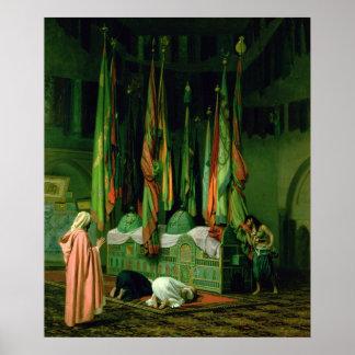 La capilla del imán Hussein Posters