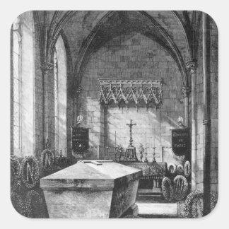 La capilla mortuoria en la iglesia de St Mary Pegatina Cuadrada