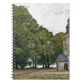 La capilla Notre-Dame de Grace en Honfleur Cuadernos