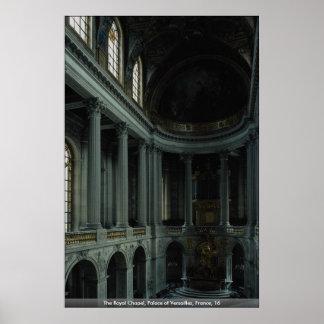 La capilla real, palacio de Versalles, Francia, 16 Posters