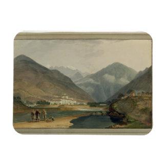 La capital anterior del invierno de Bhután en el D Imanes De Vinilo