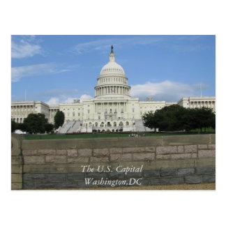 La capital Washington, postal de los E.E.U.U. de