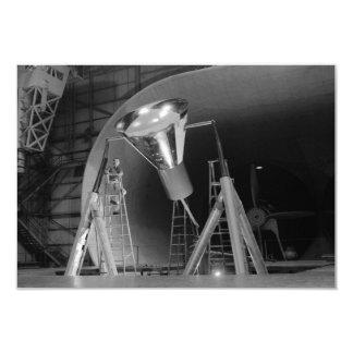 """La cápsula de espacio de Mercury experimenta la Invitación 3.5"""" X 5"""""""
