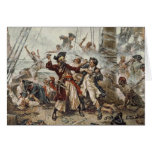 La captura de Blackbeard Tarjeta De Felicitación