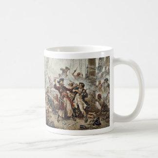 La captura de Blackbeard Taza De Café