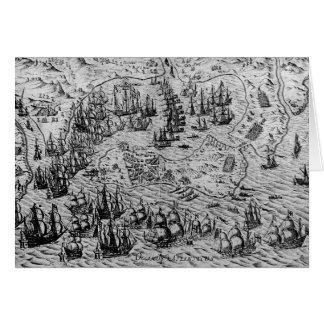 La captura de Cádiz, el 21 de junio de 1596 Tarjeta De Felicitación
