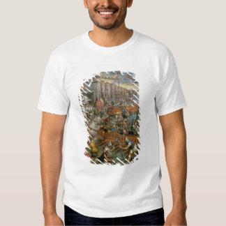 La captura de Constantinopla en 1204 (aceite en Remeras