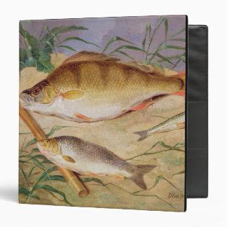"""La captura de un pescador de los pescados gruesos carpeta 1 1/2"""""""