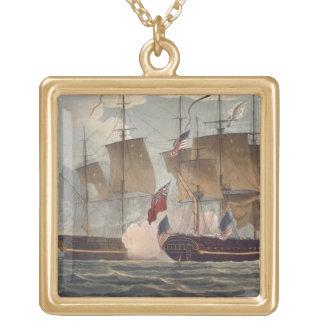 La captura del Chesapeake, el 1 de junio de 1813,  Colgante Personalizado