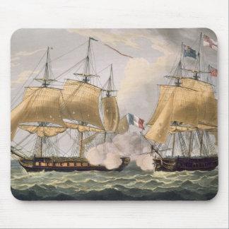 La captura del La Clorinde, el 26 de febrero de 18 Alfombrillas De Raton