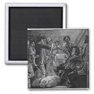 La captura del tono de Wolfe en 1798 Imán Cuadrado