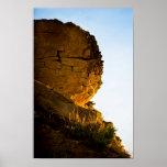 La cara de la roca posters