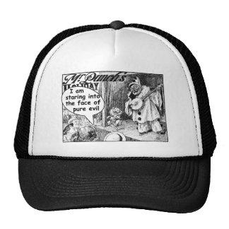 La cara del mal puro (payaso del banjo) gorras de camionero
