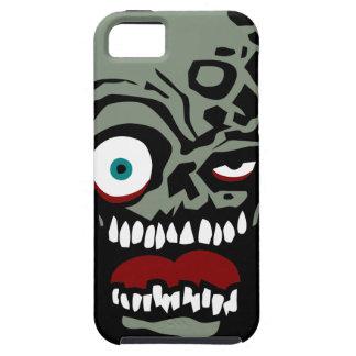La cara del zombi de la condenación funda para iPhone 5 tough