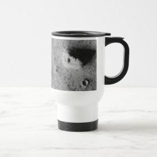 La CARA en MARS-_-Cydonia Mensae Taza De Café