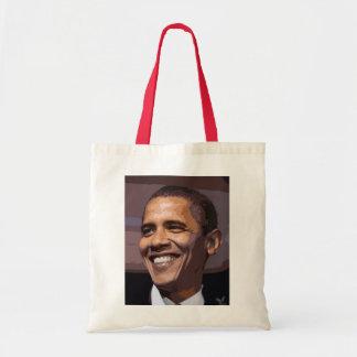 La cara hermosa de Barack Obama Bolsa