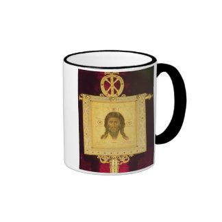 La cara santa, 1249 (el panel) taza a dos colores