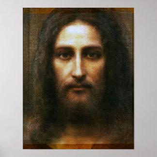 LA CARA SANTA DE JESÚS PÓSTER