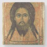 La cara santa (el panel) posavasos de piedra