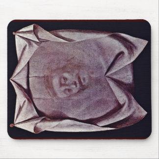 La cara santa (velo del velo de Cristo del Veronic Alfombrilla De Ratón
