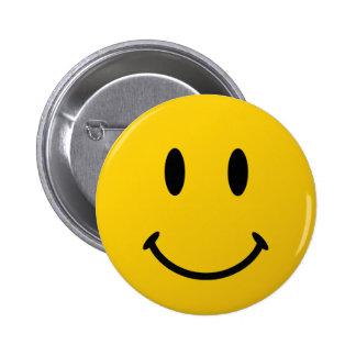 La cara sonriente original pin redondo 5 cm