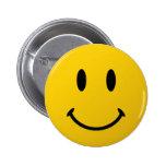La cara sonriente original pin redondo de 2 pulgadas