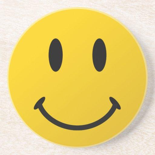 La cara sonriente original posavasos para bebidas