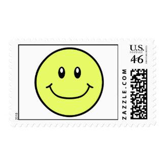 La cara sonriente sella el amarillo 0001