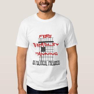 La cárcel barra la camiseta playera