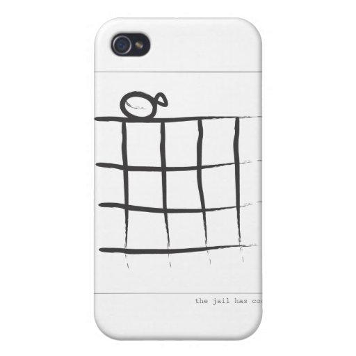 La cárcel tiene Cooties iPhone 4 Carcasas