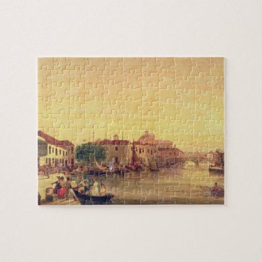 La carenadura, Bridgetown, Barbados, c.1848 Puzzle