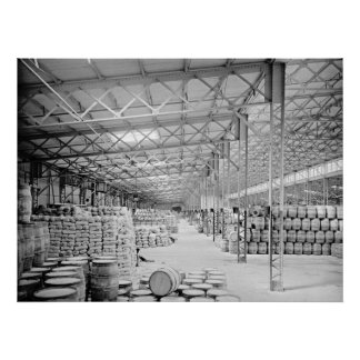 La carga central de Nueva York vierte 1900 Póster