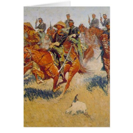La carga de caballería felicitación