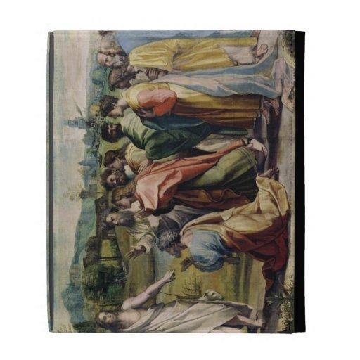 La carga de Cristo a San Pedro (dibujo animado par