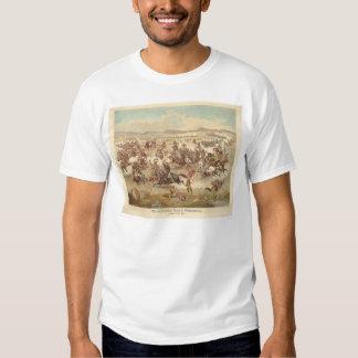 La carga pasada de Custer (0481A) Poleras