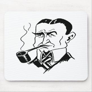 La caricatura Charles bloquea Dawes Tapetes De Raton