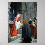 La caridad de St. Elizabeth de Hungría Posters
