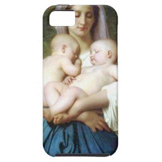 La caridad de William-Adolphe Bouguereau iPhone 5 Carcasas