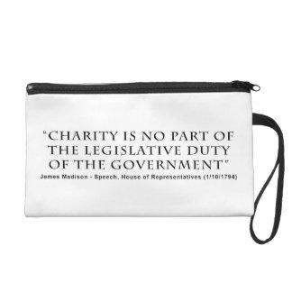 La caridad no es ningún deber legislativo de la pa