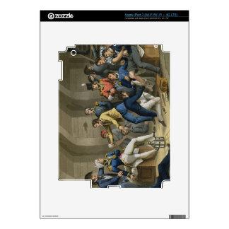 La carlinga, batalla del Nilo, mostrando Nelson wo iPad 3 Skin
